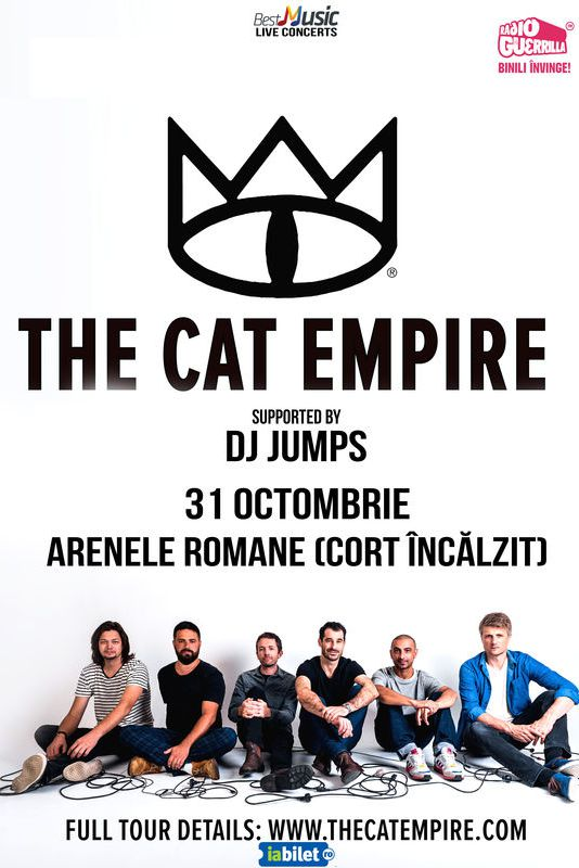 The Cat Empire la Arenele Romane