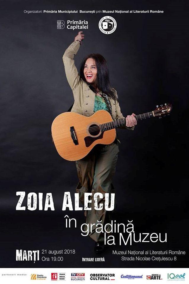 Zoia Alecu la Muzeul Național al Literaturii Române