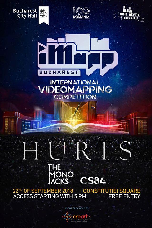 iMapp Bucharest 2018 & concert Hurts la Piața Constituției