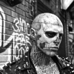 Rick Genest Zombie Boy fotomodel Lady Gaga Born This Way