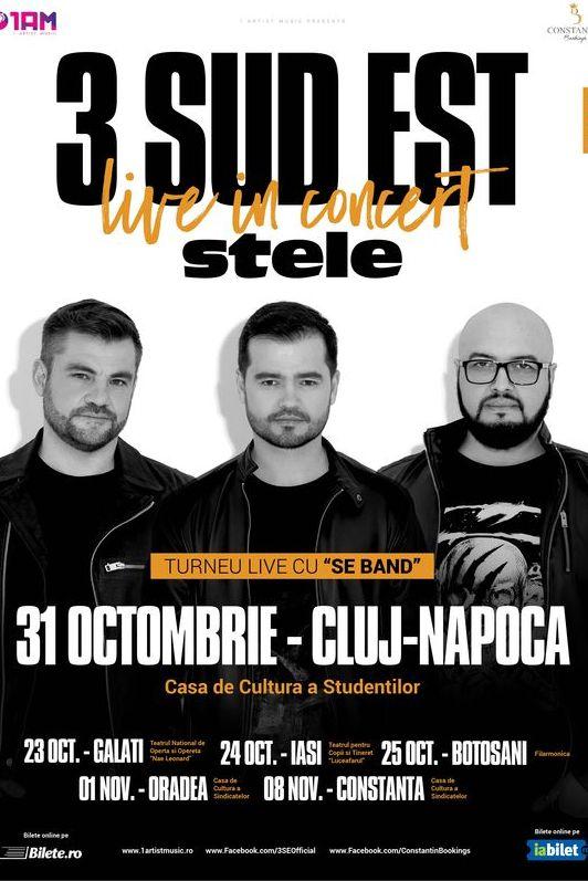 3 Sud Est la Casa de Cultură a Studenților din Cluj-Napoca