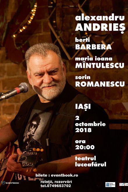 Alexandru Andrieș la Teatrul Luceafărul