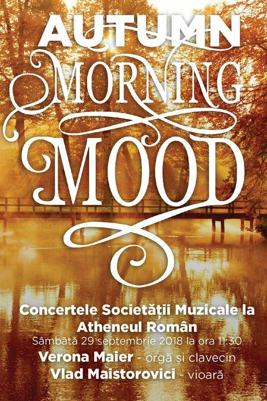 Autumn Morning Mood la Ateneul Român