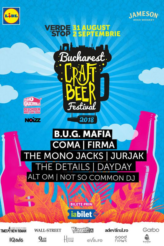 Bucharest Craft Beer Festival 2018 la Verde Stop