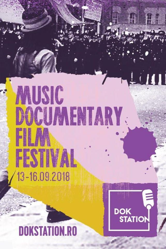 DokStation Music Documentary Film Festival 2018 la Club Control
