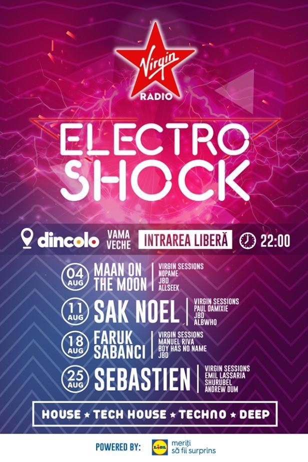 ElectroShock: Sebastien la Vama Veche