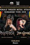 Female Trash Metal Attack