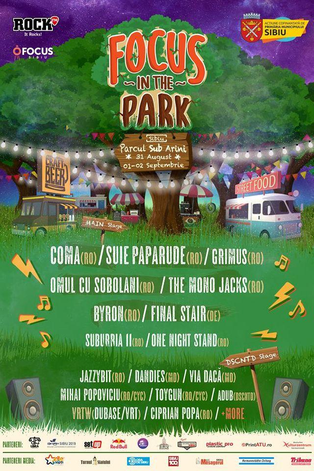 Focus in The Park 2018 la Parcul Sub Arini