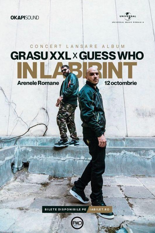 Grasu XXL & Guess Who la Arenele Romane