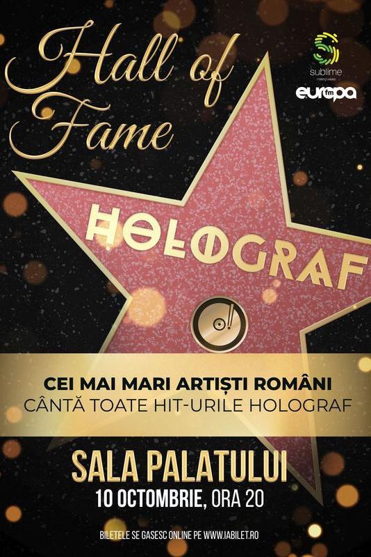 Holograf - Hall of Fame la Sala Palatului