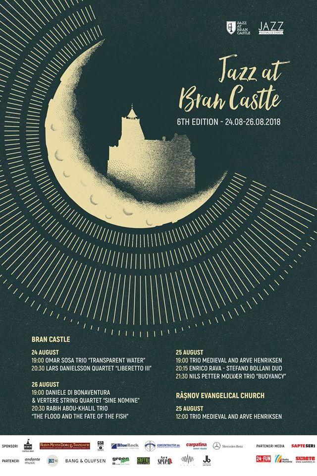 Jazz at Bran Castle 2018 la Castelul Bran