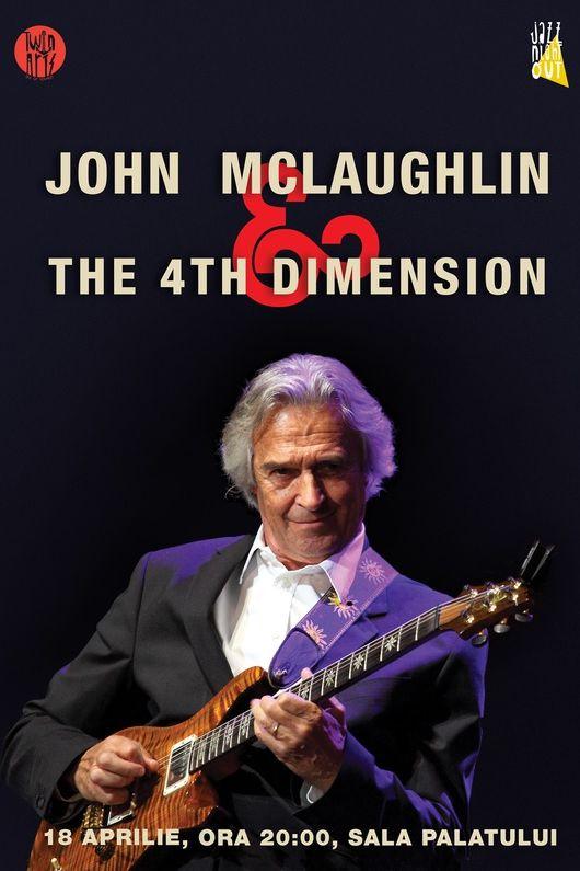 John McLaughlin & 4th Dimension la Sala Palatului