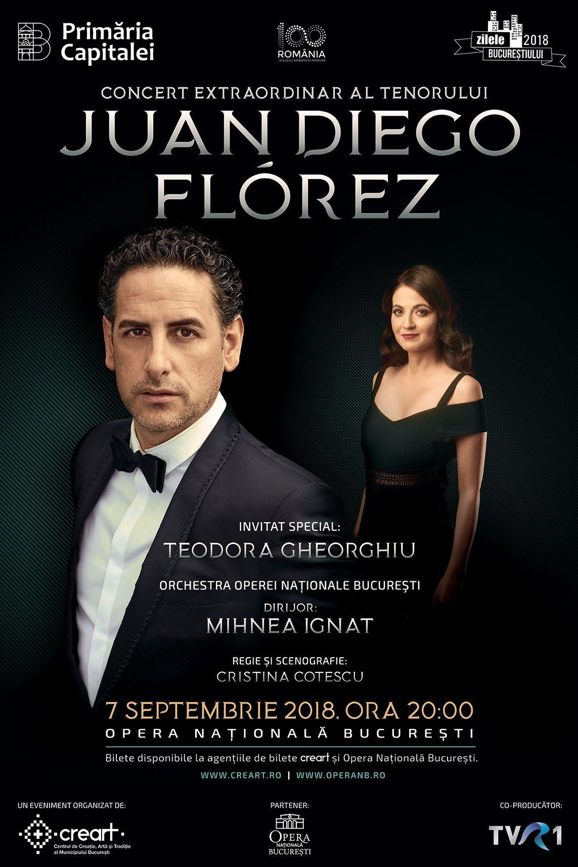 Juan Diego Flórez la Opera Națională București