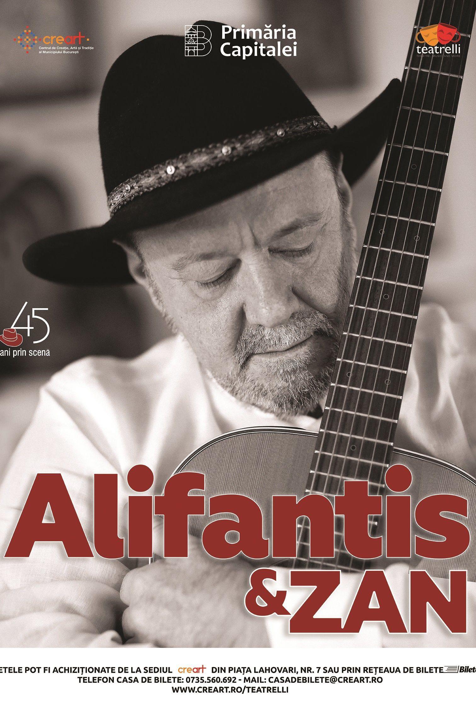 Nicu Alifantis & Zan la teatrelli - theatre, music & more