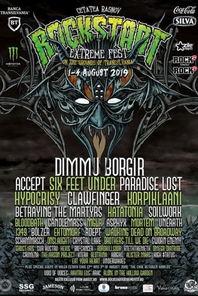 Poster eveniment Rockstadt Extreme Fest 2019
