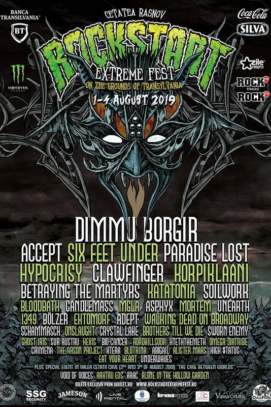 Rockstadt Extreme Fest 2019 la Cetatea Râșnov