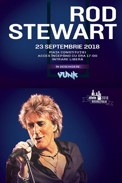 Rod Stewart la Piața Constituției