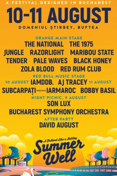 Poster eveniment Summer Well 2019
