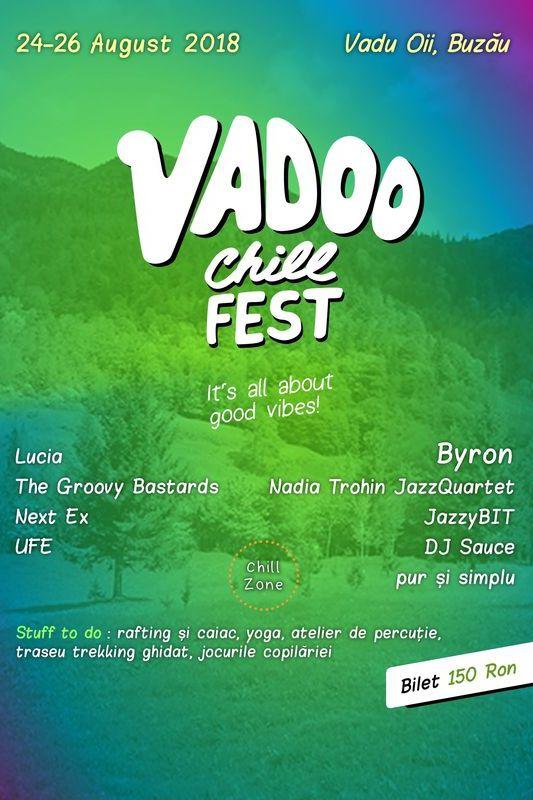 Vadoo Chill FEST 2018 la Vadu Oii (Buzău)