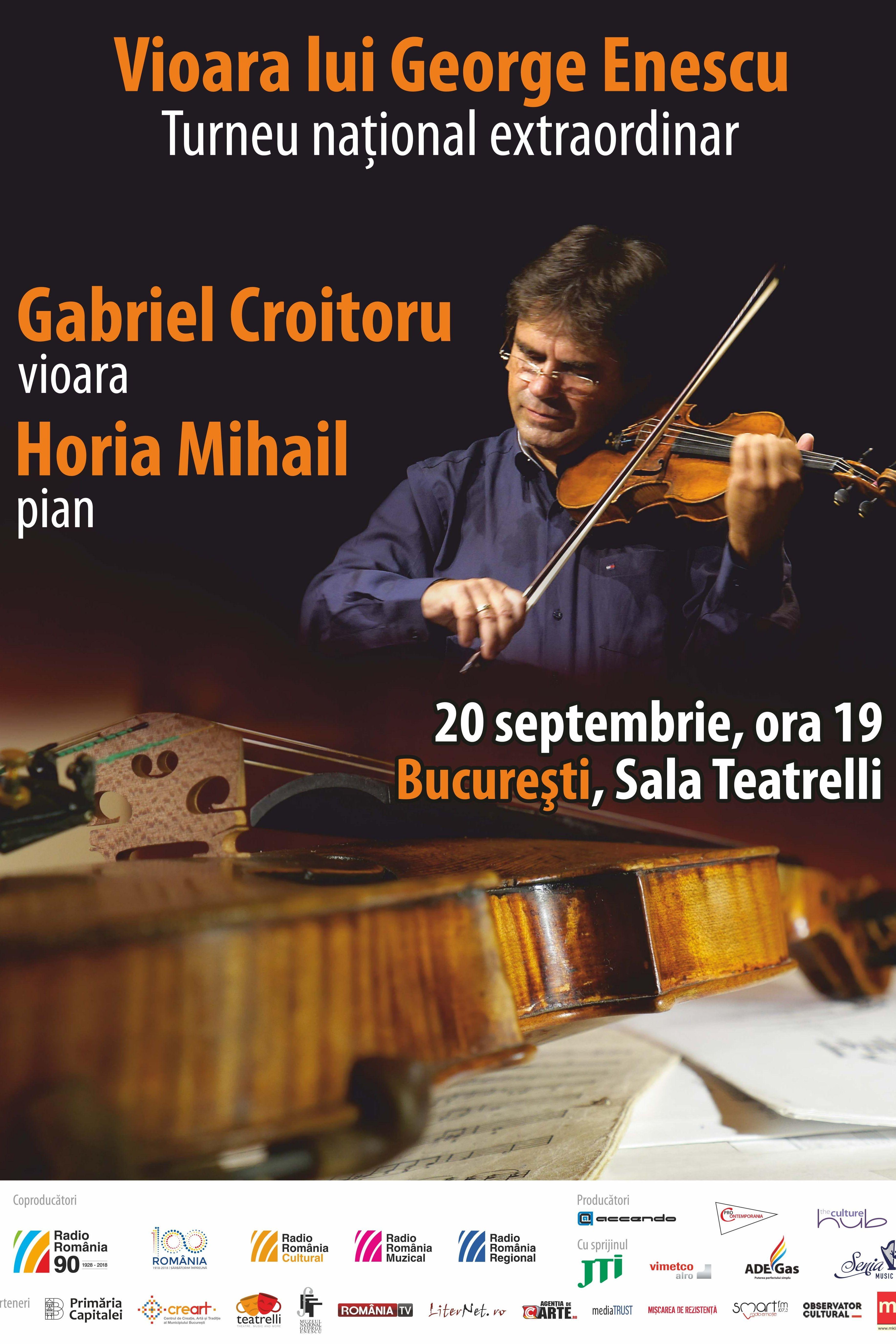 Vioara lui George Enescu la teatrelli - theatre, music & more
