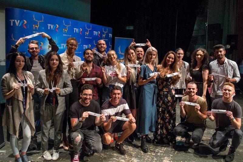 Concurenții Concursului de interpretare - Cerbul de Aur 2018