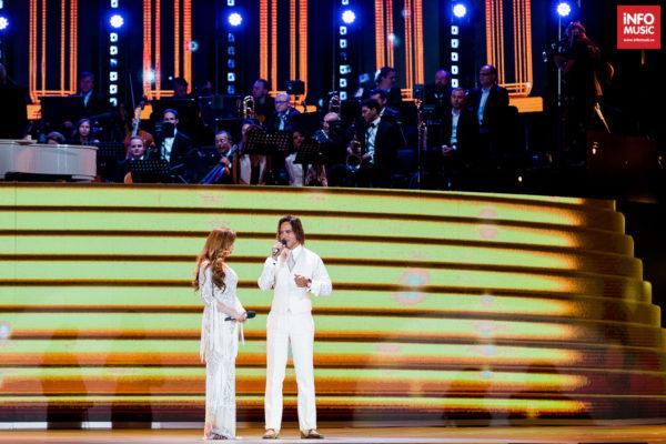 Iulia Vântur și Gabriel Garko la Cerbul de Aur 2018
