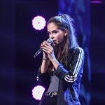 Daniela Matei cântând la X Factor 2018