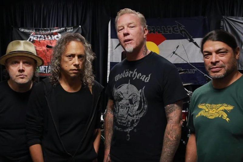 """Metallica susține cauza """"I'm Listening"""""""