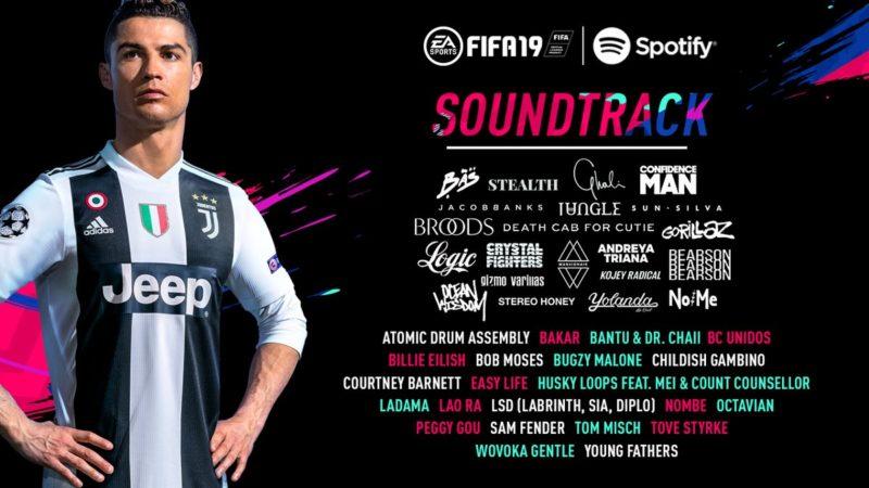Coloana sonora FIFA 19