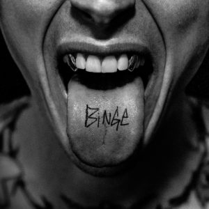 Machine Gun Kelly coperta album Binge