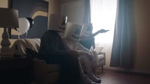 Videoclip Marshmello Flashbacks