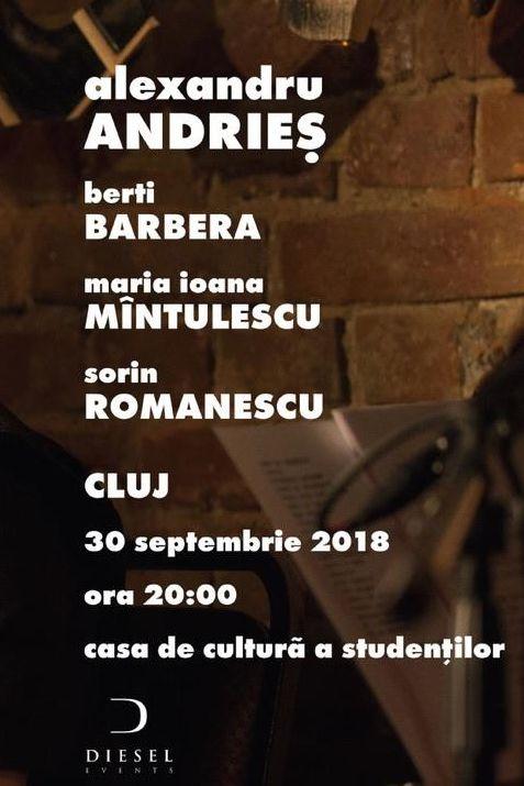 Alexandru Andrieș la Casa de Cultură a Studenților din Cluj-Napoca