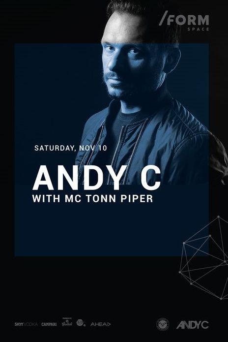 Andy C la Form Space Club