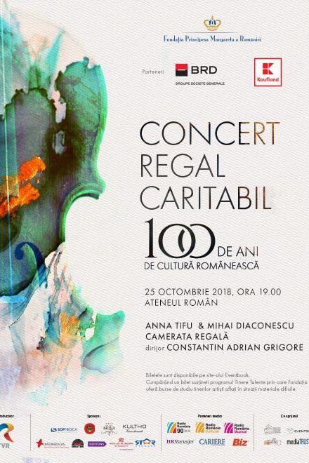 Concert Caritabil Regal la Ateneul Român
