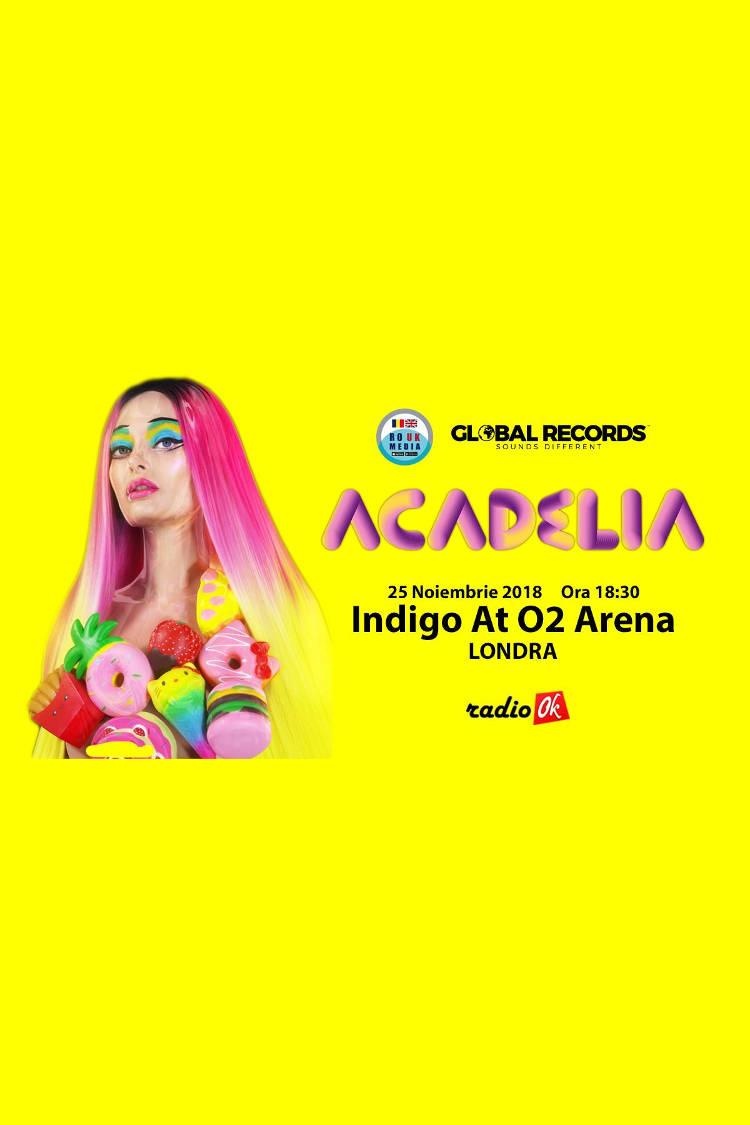 Acadelia la The O2 Arena