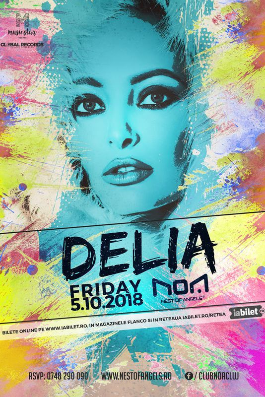 Delia la Club NOA (Cluj-Napoca)