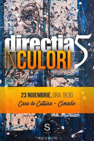 Poster eveniment Direcția 5 - În culori