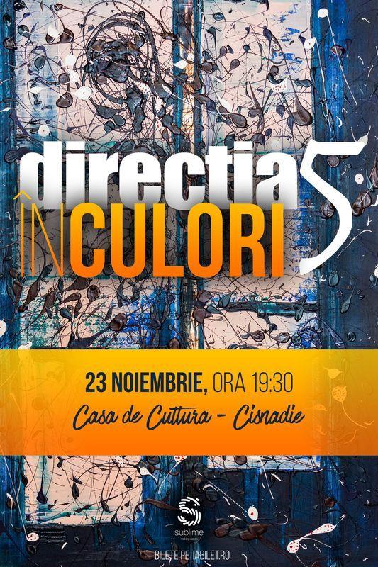 Direcția 5 - În culori la Casa de Cultură din Cisnădie