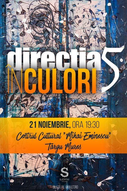 Direcția 5 - În culori la Centrul Cultural