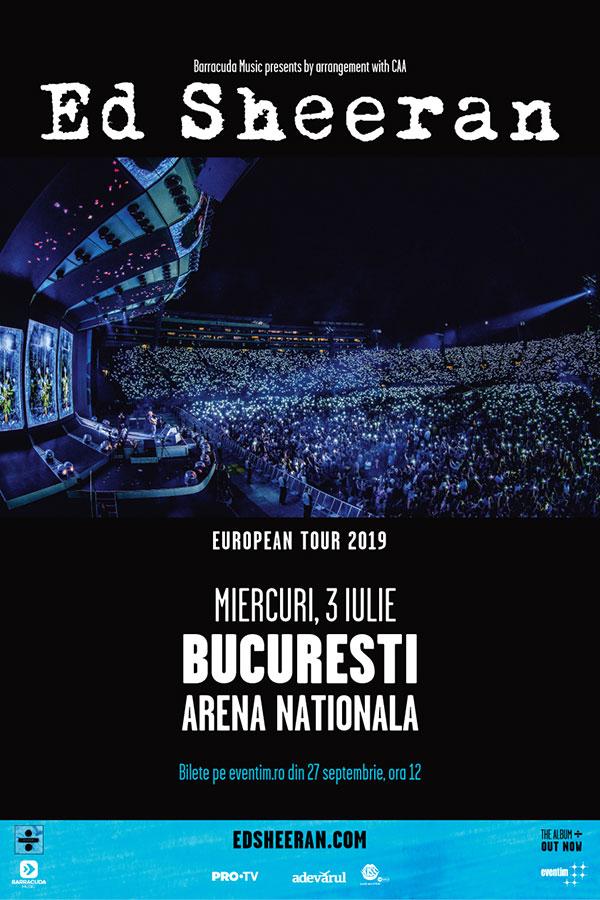 Ed Sheeran la Arena Națională