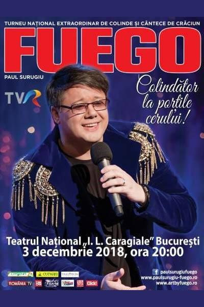 Fuego - Colindător la Porțile Cerului la Casa de Cultură a Sindicatelor Pitești