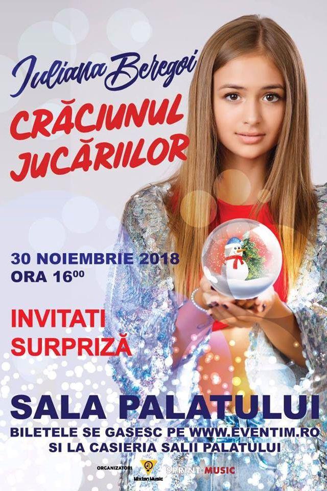 Iuliana Beregoi - Crăciunul Jucăriilor la Sala Palatului