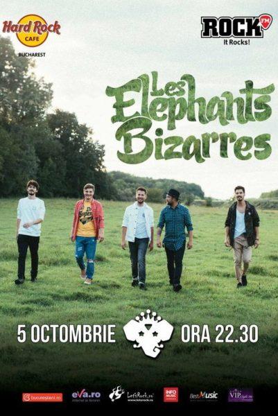 Poster eveniment Les Elephants Bizarres