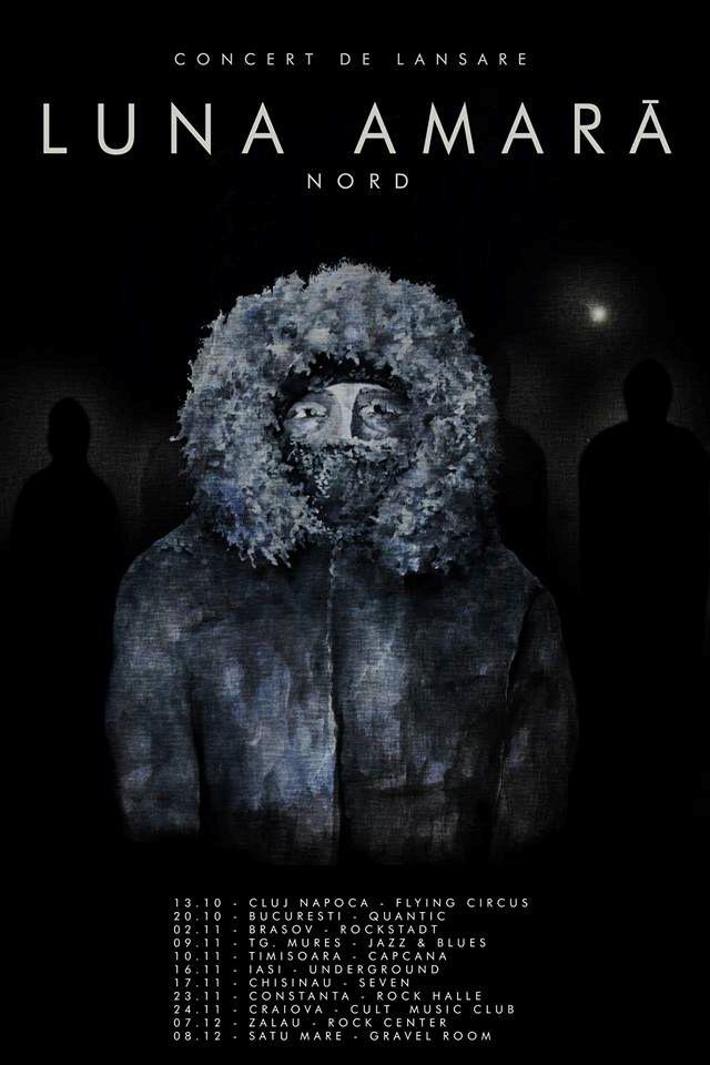 Luna Amară - lansare album