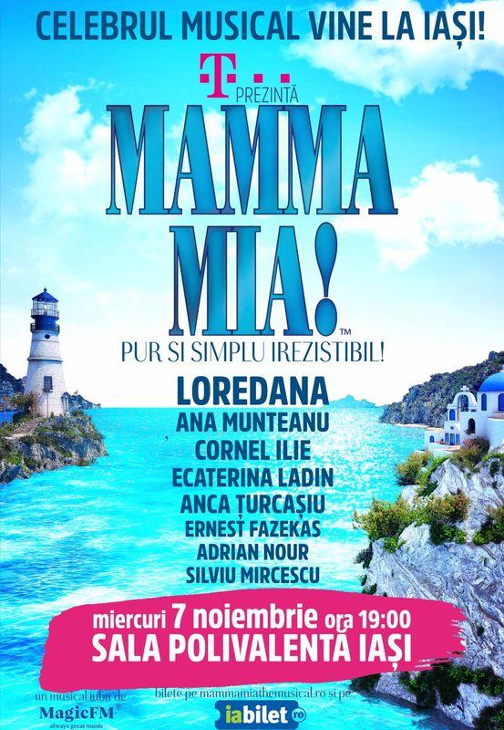 Mamma Mia! la Sala Polivalenta din Iasi