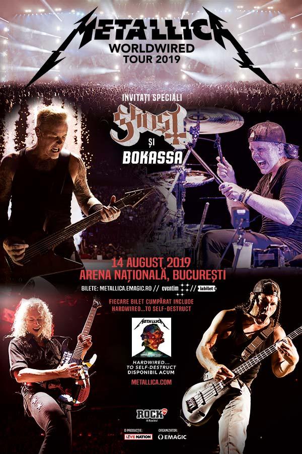 Metallica la Arena Națională