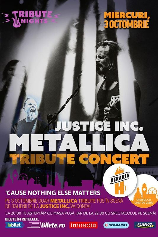 Metallica Tribute la Berăria H