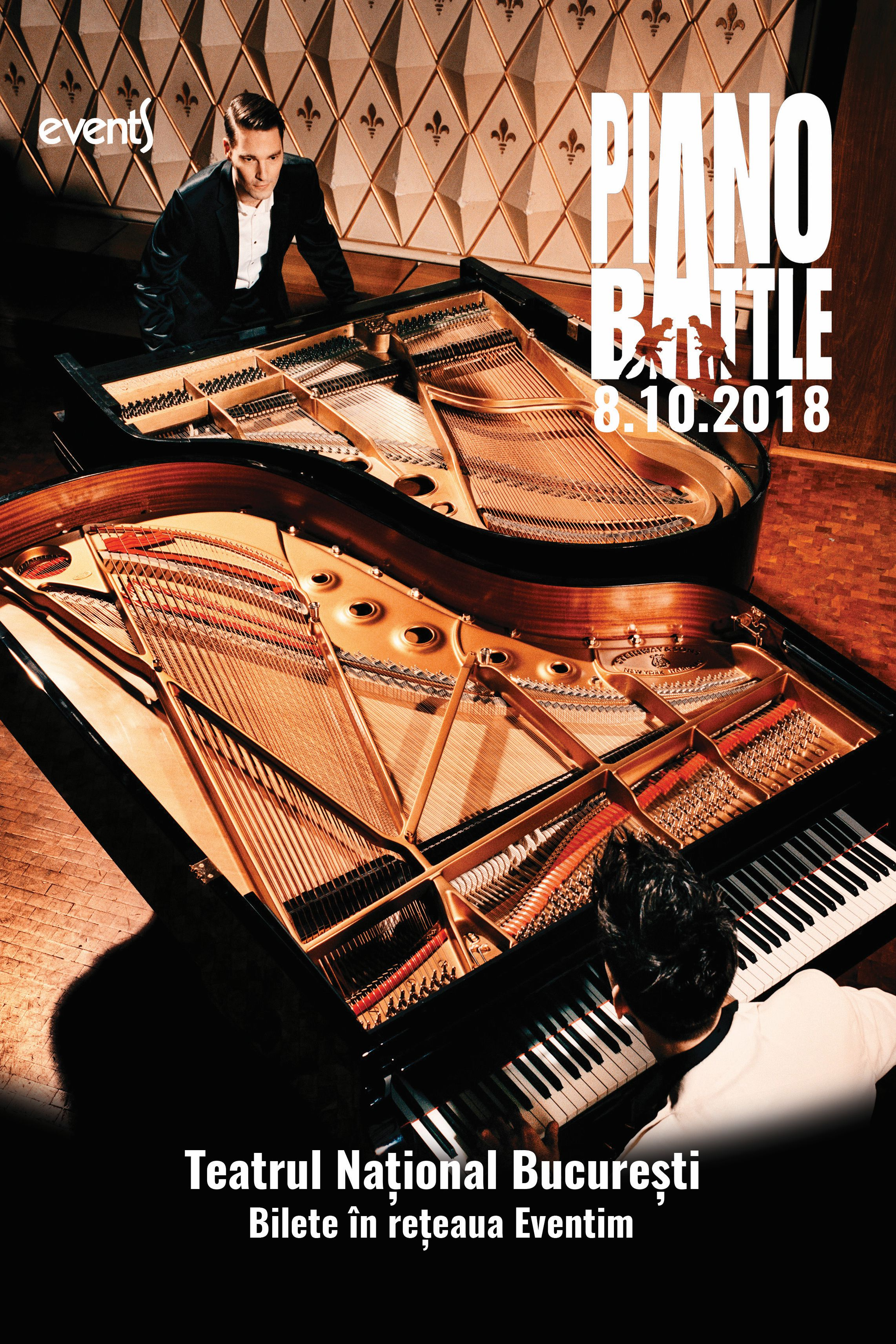 Piano Battle la Teatrul Naţional București