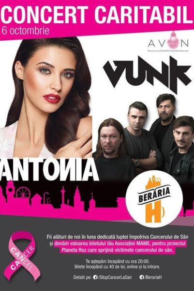 Poster eveniment PINK LIGHT w/ Antonia, Vunk