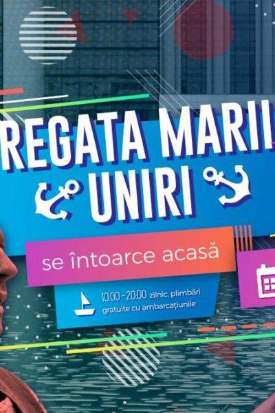 Poster eveniment Regata Marii Uniri - Flotila România Centenar